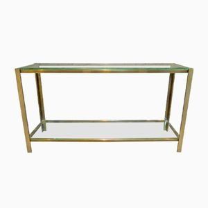 French Two-Tiered Console Table, 1970s