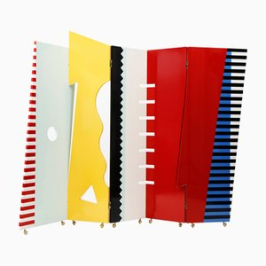 Bagatelle Folding Screen by Dan Friedman, 1980s