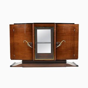 French Art Deco Mahogany Buffet, 1930s