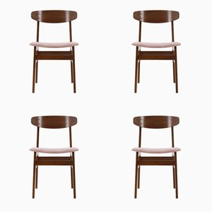 Teak Chairs from SAX, 1960s, Set of 4