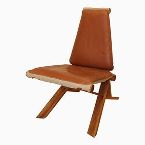 S46Y Dromadaire Chair by Pierre Chapo, 1970s