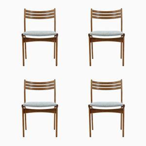 Oak Chairs by Johannes Andersen, 1960s, Set of 4