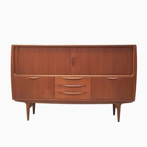 Model U18 Teak Sideboard by Johannes Andersen for Uldum Møbelfabrik, 1960s