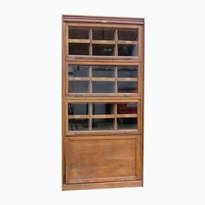 Vintage Oak Eighteen Drawer Haberdashery Cabinet from Dudley & Co Ltd