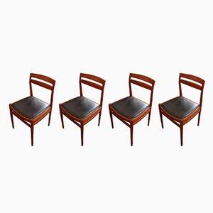 Mid-Century Dining Chairs from Bruksbo Nesjestranda Møbelfabrik, Set of 4