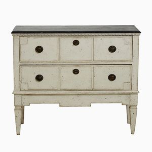 Gustavian Two-Drawer Chest