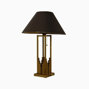 Brass Table Lamp from Lumica, 1970s