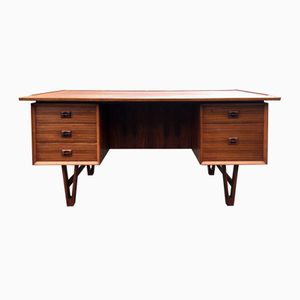 Small Danish Rosewood Desk, 1960s