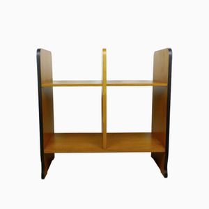 German Pear Wood Standing Shelf, 1950s