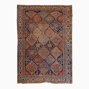 Antique Handmade Persian Afshar Rug, 1900s