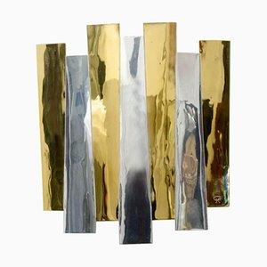 Brass Sconce by Henri Perrichaud, 1960s