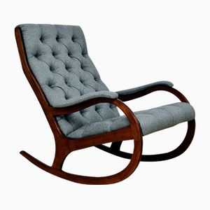 Chesterfield Style Rocking Chair, 1970s
