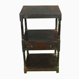 19th-Century Side Table in Fir