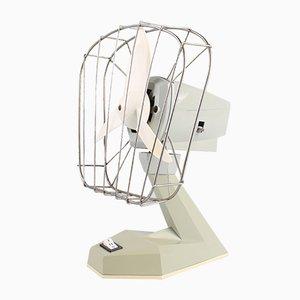 Vintage East German Grey Plastic Fan