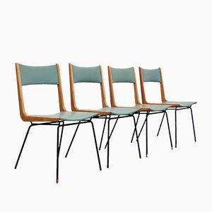 Mid-Century Dining Chairs by Carlo di Carli, Set of 4