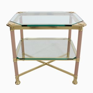 Italian Brass Coffee Table from Vivai del Sud, 1960s