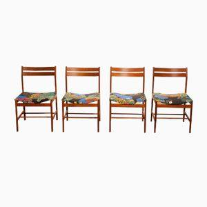 Anakreon Teak Dining Chairs by Josef Frank, 1960s, Set of 4