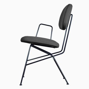 40+10 Chair in Black by Maurizio Navone