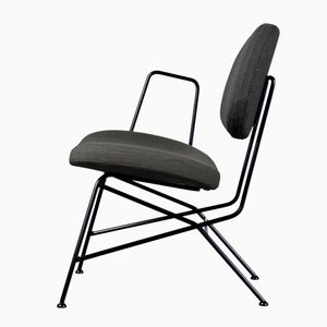 40+10 Lounge Chair in Black by Maurizio Navone for RestartMilano
