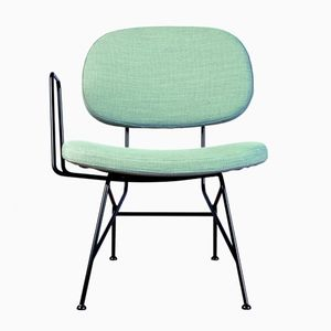 40+10 Lounge Chair in Aquamarine by Maurizio Navone