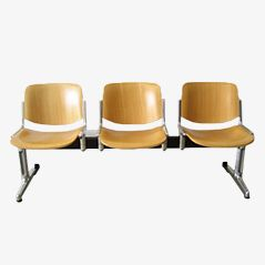Waiting Room Chairs from Castelli, Set of 3