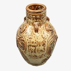 Stoneware Vase by Jais Nielsen for Royal Copenhagen, 1958