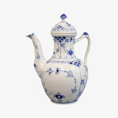 No. 518 Porcelain Coffee Pot by Arnold King for Royal Copenhagen, 1966