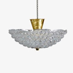 Mid-Century Ceiling Light by Carl Fagerlund for Orrefors, 1960s