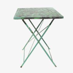 Table de Jardin Pliante Verte
