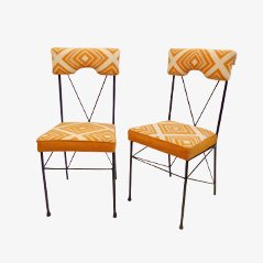 Vintage Italian Dining Chairs, Set of 2
