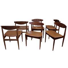 Vintage Stühle von Ib Kofoed Larsen für G-Plan, 6er Set