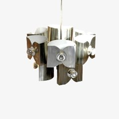 Aluminium Space Age Pendant Lamp, 1969