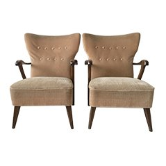 Vintage Lounge Chairs by A.A. Patijn for Zijlstra Jour, Set of 2