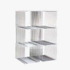 Vintage Wire Cubes by Verner Panton for Fritz Hansen, Set of 6