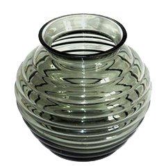 Große Felicitas Vase von Richard Lauke für Glasfabrik Weißwasser, 1939