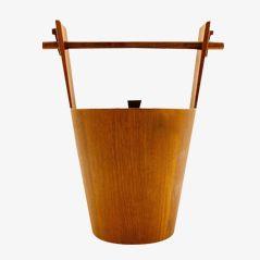 Mid Century Teak Eiskübel von Anri Form, 1960er