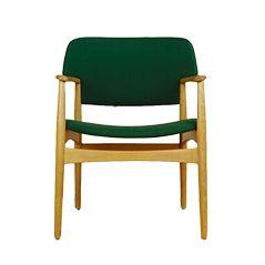 Modell 4205 Dänische Vintage Sessel von Ejner Larsen & Aksel Bender Madsen für Fritz Hansen, 1955