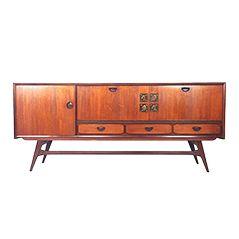 Sideboard von Louis van Teeffelen für WéBé, 1960er