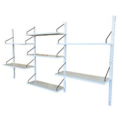 White Shelving System by Poul Cadovius for Royal System
