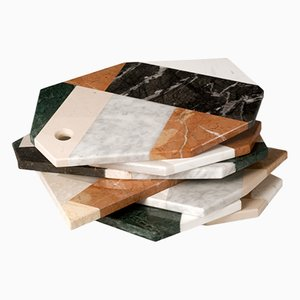 Italienisches Marmor Serviertablett von Lucia Massari für Mandruzzato Marmi e Graniti