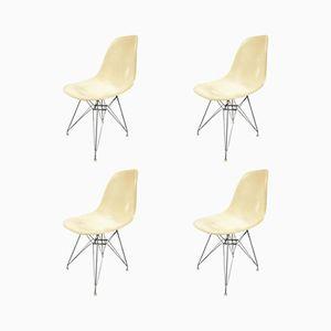 Chaises de Salon Beige par Charles Eames pour Herman Miller, 1960s, Set de 4