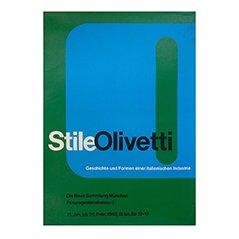 Stile Olivetti Münchener Edition von Walter Ballmer, 1962