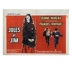 Belgisches 'Jules und Jim' Filmplakat von Edicolor