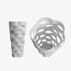 Extra Large Little Gerla Vase by Paolo Ulian & Moreno Ratti, 2015