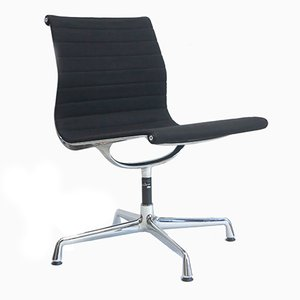 Vintage Black Swivel Chair by Charles & Ray Eames for Vitra
