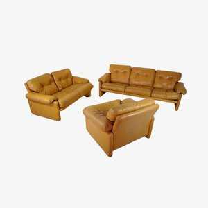 Coronado Sofa Set by Afra and Tobia Scarpa for B&B Italia