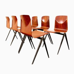 S22 Industrial Stacking Chair by Galvanitas