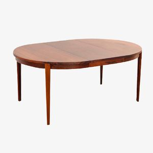 Rosewood Dining Table by Rosengren Hansen for Brande Møbelindustri