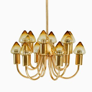 Vintage Chandelier by Hans-Agne Jakobsson for Markaryd