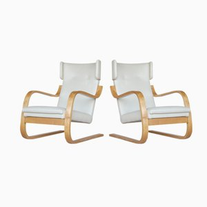 Model 401 Chairs by Alvar Aalto, 1935, Set of 2